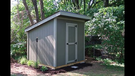 Youtube How To Build A Backyard Shed