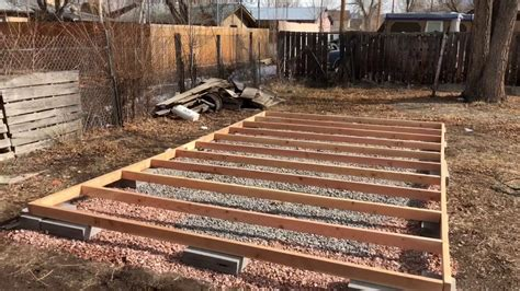 Youtube How To Build A Garden Shed