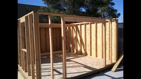 Youtube How To Build A Shed Free Plans