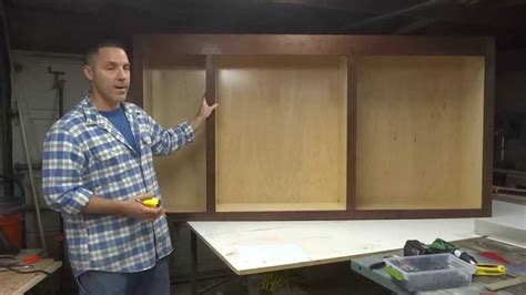 Youtube How To Build Cabinets From Scratch