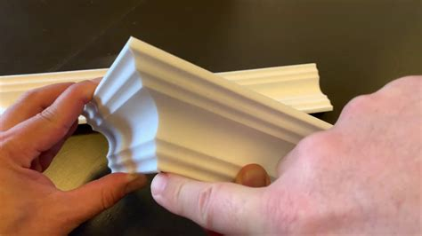 Youtube How To Cut Outside Corner Molding