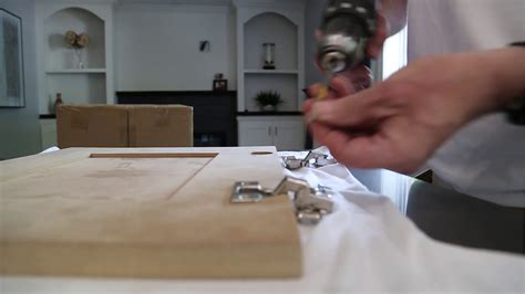 Youtube How To Install Cabinet Doors