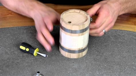 Youtube How To Make A Diy Wood Barrel