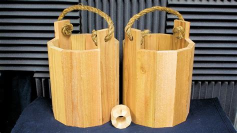 Youtube How To Make A Wooden Bucket