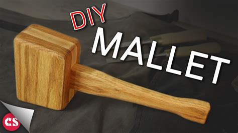 Youtube How To Make A Wooden Mallet Hammer