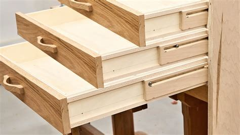 Youtube How To Make Wooden Drawer Slides