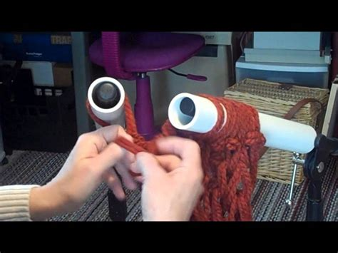 Youtube How To Pvc Pipe Knitting