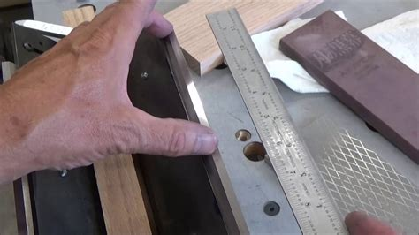 Youtube How To Set Jointer Knives