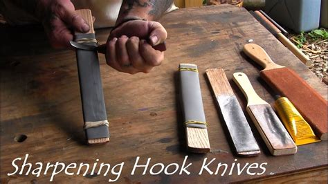 Youtube How To Sharpen A Wood Carving Knife