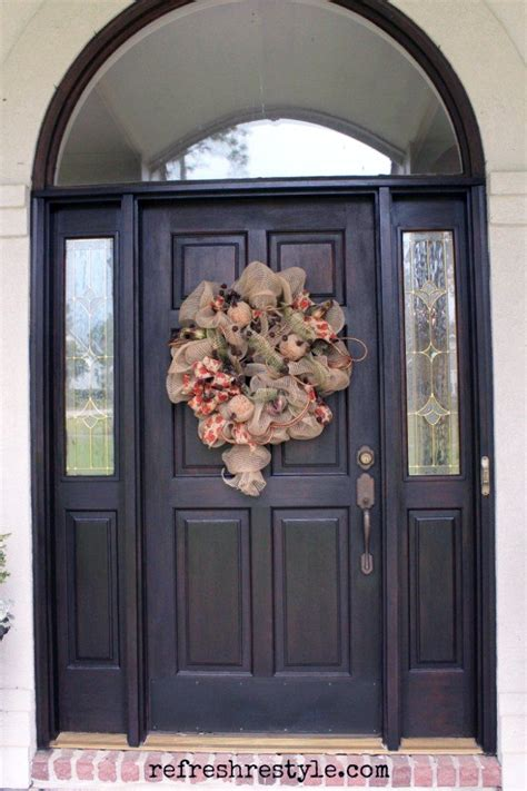 Youtube How To Stain A Front Door