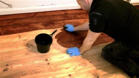 Youtube How To Stain Hardwood Floors