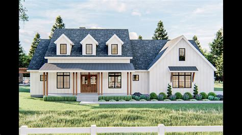 Youtube New Farmhouse Plans Tours