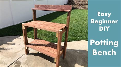 Youtube Potting Bench Plans