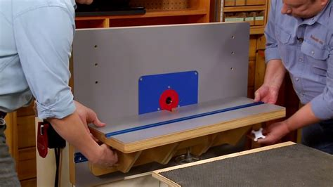Youtube Router Table Plans