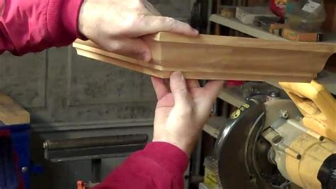 Youtube Video How To Cut Crown Molding