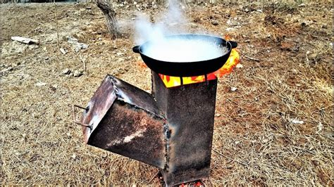 Youtube-Camp-Cooking-On-A-Diy-Wood-Stove