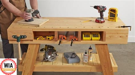 Youtube-Diy-Woodworking-Workbench
