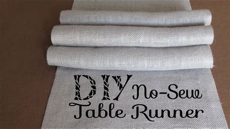 Youtube-Gray-Burlap-Sew-Diy-Table-Runner