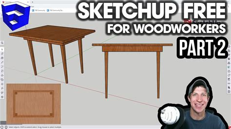 Youtube-Sketchup-Woodworking