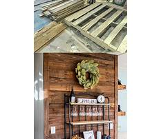 Best Youtube recycled pallet wood walls