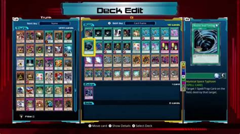 Yugioh Legacy Of The Duelist Op Deck Builds