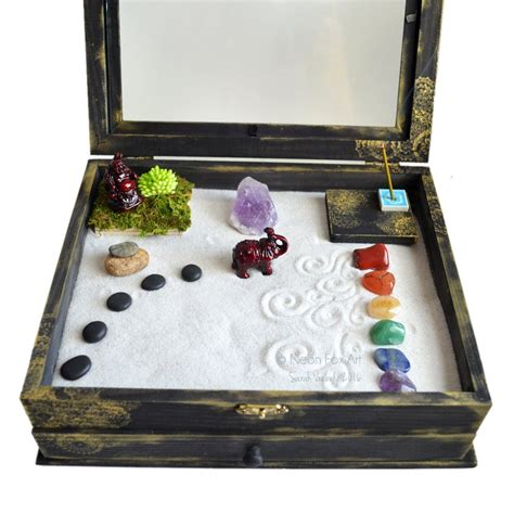 Zen Meditation Box Diy Chrzest