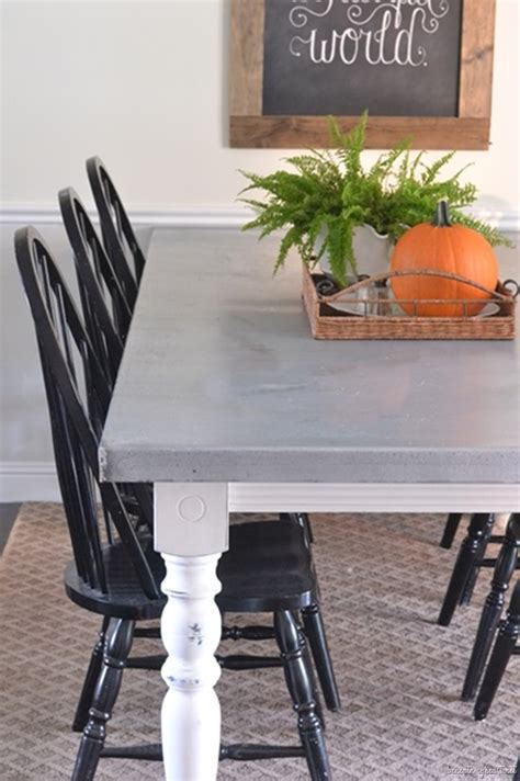 Zinc Top Table Diy