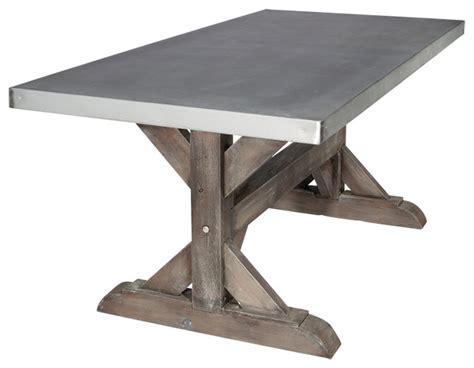 Zinc-Farm-Trestle-Table-Rustic-Sand