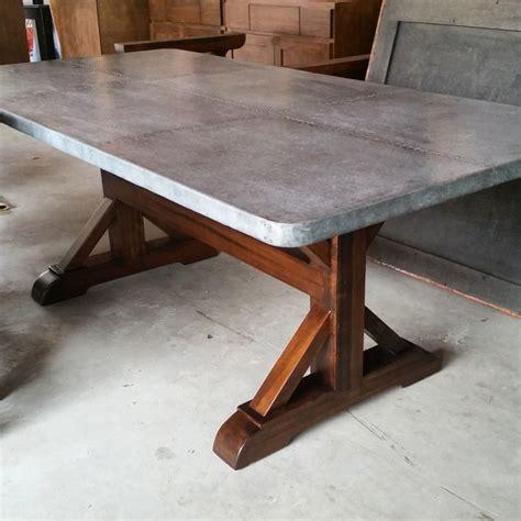 Zinc-Farmhouse-Table