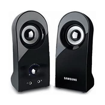 [SAMSUNG] SMS-M70U laptop 2ch Stereo Speaker, 3.5mm, 1x2W, Black - USB Powered