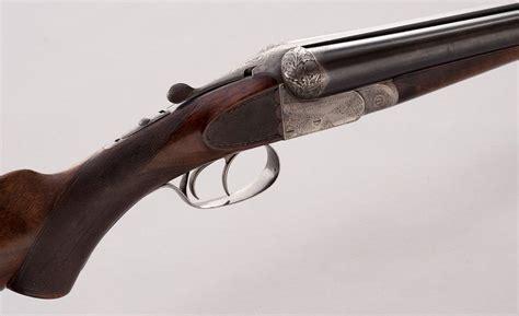 A Francotte Double Barrel Shotgun