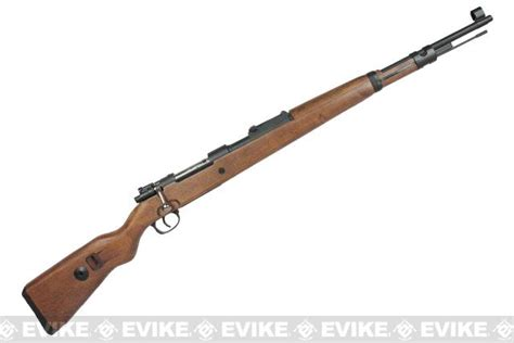 A K Wwii Bolt Action Kar98k Metal Chamber Airsoft Rifle Unboxing