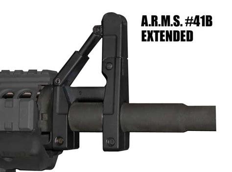 A R M S Inc Ar15 M16 41bl Silhouette Folding Front Sight