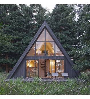 A Frame Cabin Plans With Loft
