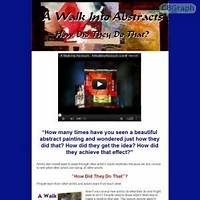 Guide to a walk into abstracts ultimate abstract artist resource