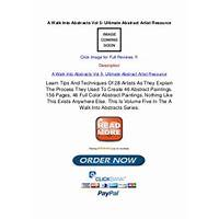 A walk into abstracts vol 5 ultimate abstract artist resource step by step