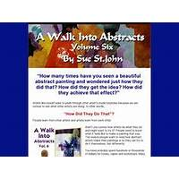 A walk into abstracts vol 6 ultimate abstract artist resource online tutorial