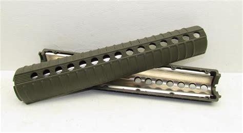 A2 Rifle Length Handguards In Odgreen
