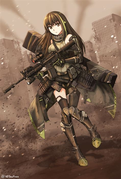 Aassault Rifle Ammo Girls Frontline