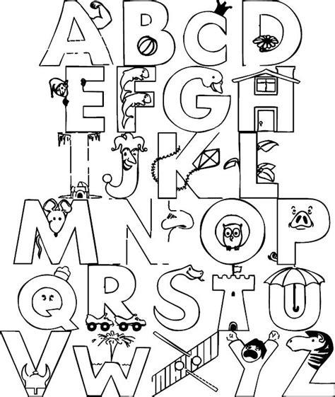 Abc Malvorlagen English