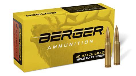 ABM Ammo Is Now Berger Ammunition Berger Bullets