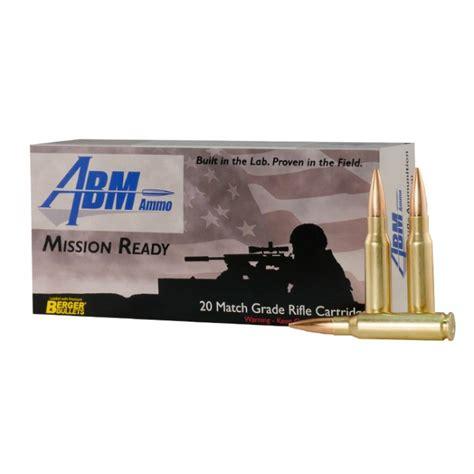 Abm Ammo Releases New 185gr Juggernaut 308 Winchester
