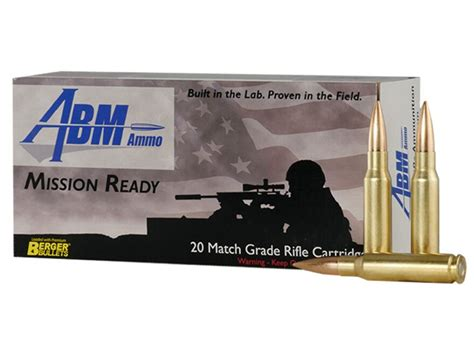 Abm Ammunition Mission Ready 308 Winchester 175 Grains