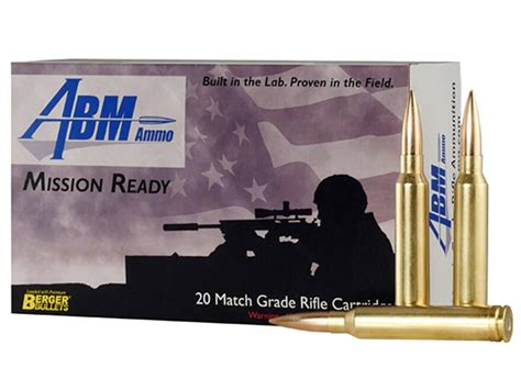 Abm Mission Readytactical Ammo 300 Winchester Mag 185