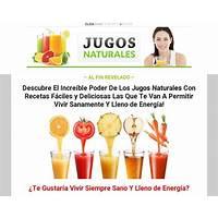 Accede a las recetas de los mejores jugos naturales scam