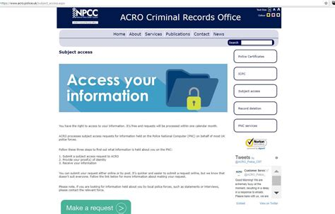 access police records
