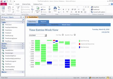 Access Time Tracking Template CV Templates Download Free CV Templates [optimizareseo.online]