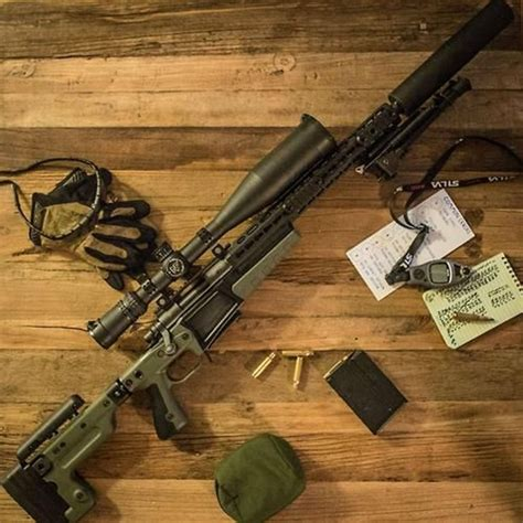 Accuracy International Ax Chassis Remington 700 Aac 308 Win