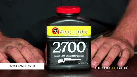 Accurate Arms 2700 At Reloading Unlimited