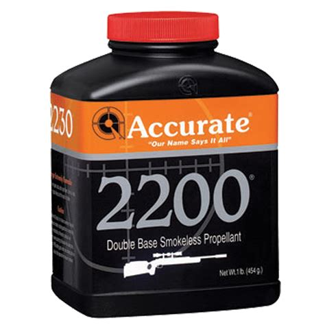 Accurate Data 2200 Powder - Shooters Forum